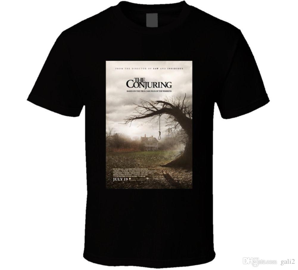 The Conjuring Cool Horror Cult Classic Movie Poster Fan T Shirt