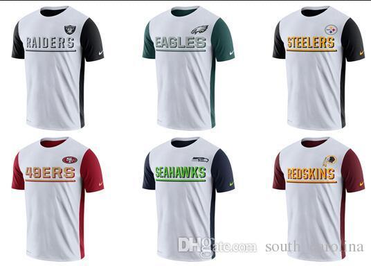 Men Oakland Raiders Philadelphia Eagles Pittsburgh Steelers San Francisco 49ers  Seahawks Redskins White Champ Drive 2.0 Performance T-Shirt Pekka Rinne ... baf35b6f0