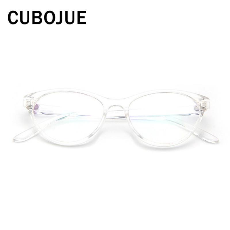 29579f5d821 Cubojue Cat Eye Glasses Women Optical Transparent Glasses Vintage ...