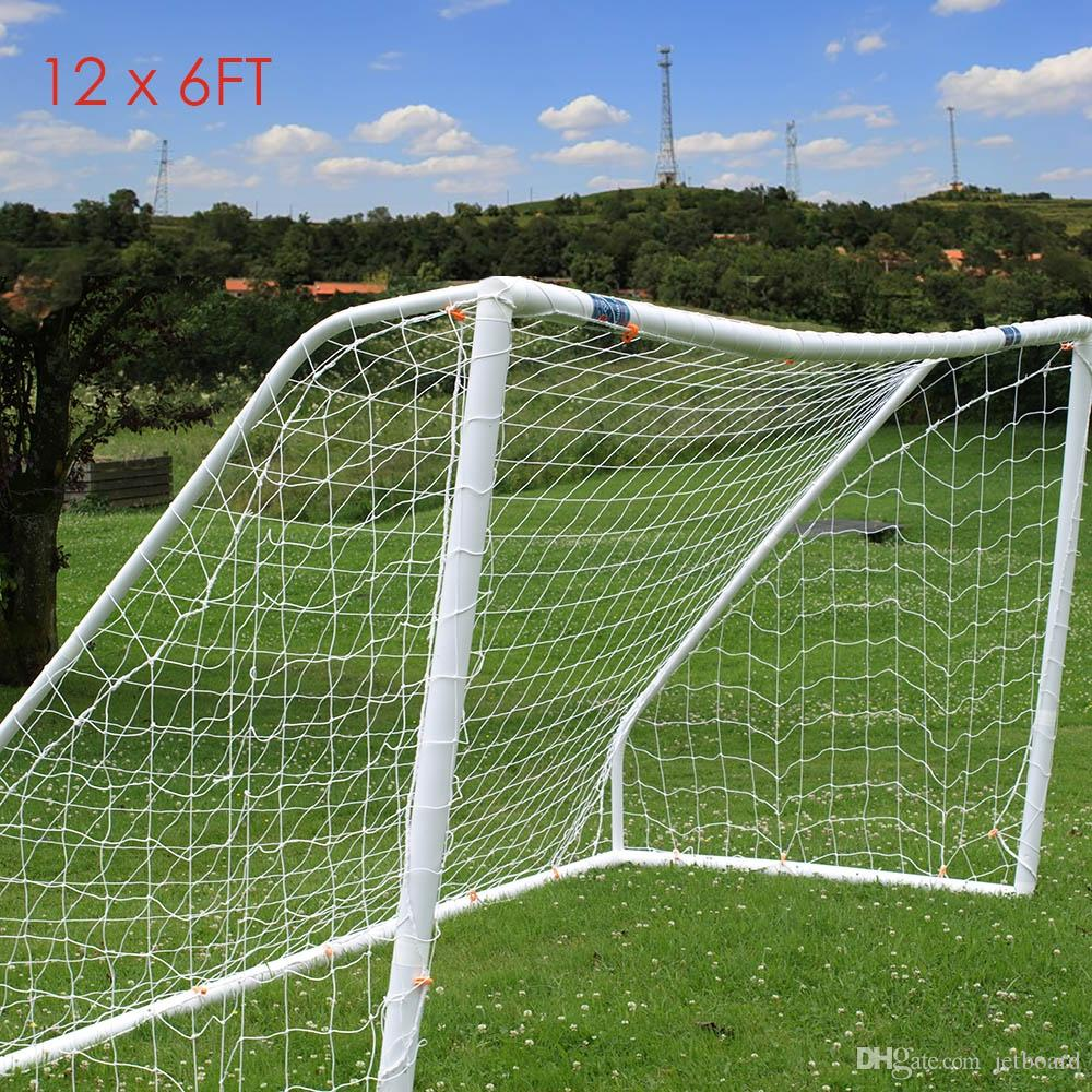 Soccer Goals For Sale >> Full Size 12 X 6ft Football Soccer Goal Post Nets High Impact Flexible Light And Easy To Assemble