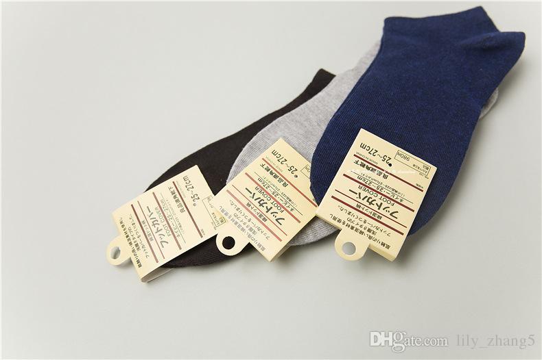 All'ingrosso-20 paia / lotto calzini sportivi da uomo di colore corto puro calzino sportivo da uomo i spedizione gratuita