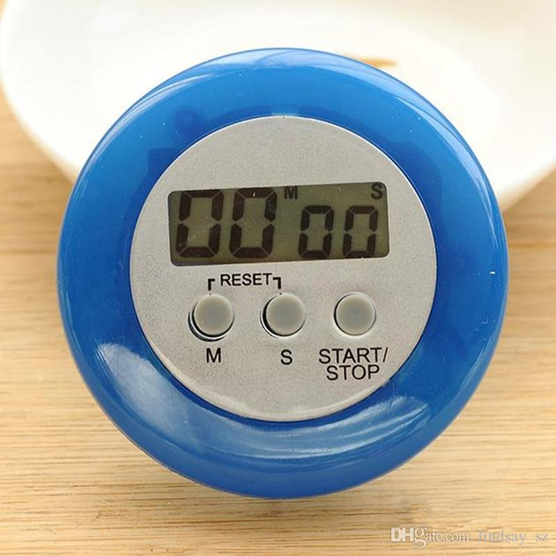 LCD Digital Kitchen Timers Countdown Back Stand Cooking Timer Count UP Alarm Clock Kitchen Gadgets Cooking Tools