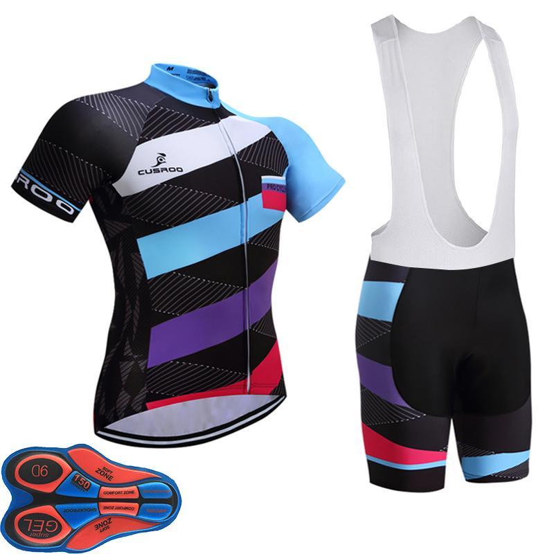 2018 UCI PRO BIKE Cycling Team Jersey 9D Gel Pad Bike Shorts Ropa ... 8c2ac6f05