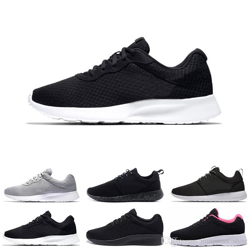 New Running Shoes London Tanjun Black White Men Womens Running Shoes ... d748925807da