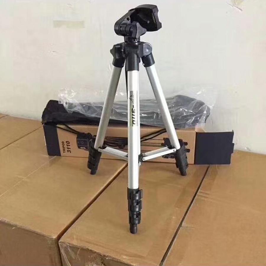 Kit d'accessoires de trépied en aluminium pour appareil photo 3110A Professional Stand pour Canon pour Nikon Pour caméscope Sony DSLR
