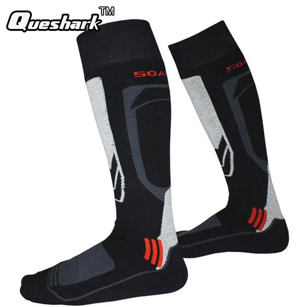 ce9819e71 Men Women Thermal Ski Socks Winter Cotton Sports Socks Running ...
