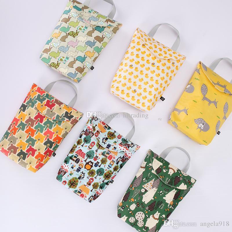Almacenamiento Para Portátil Bolsillo Animados Pañal Chupete Bolsas Pañales De Dinero Bolsa Impresión Mami Snacks Dibujos Bebés tsrdxQBhC