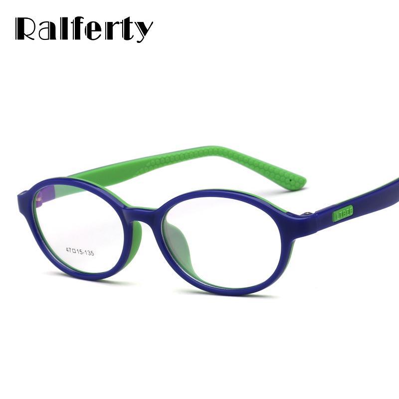 1c89e68953 2019 Ralferty Child Ultra Light Glasses Frame Flexible TR90 Silicone Kids  Eyewear Frames Prescription Glasses Boy Girl Eyeglass O805 From Haydena