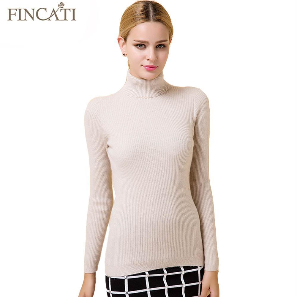 1806b2868d61 Promozione maglione donna 2017! Pullover donna autunno inverno misto  cashmere in lana cachemire slim