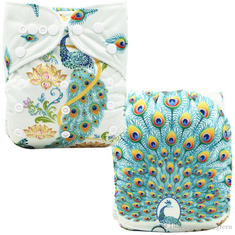 7a48322c0 Baby Nappy Diapers Unicornio Position Print Pocket Diaper Nappies ...