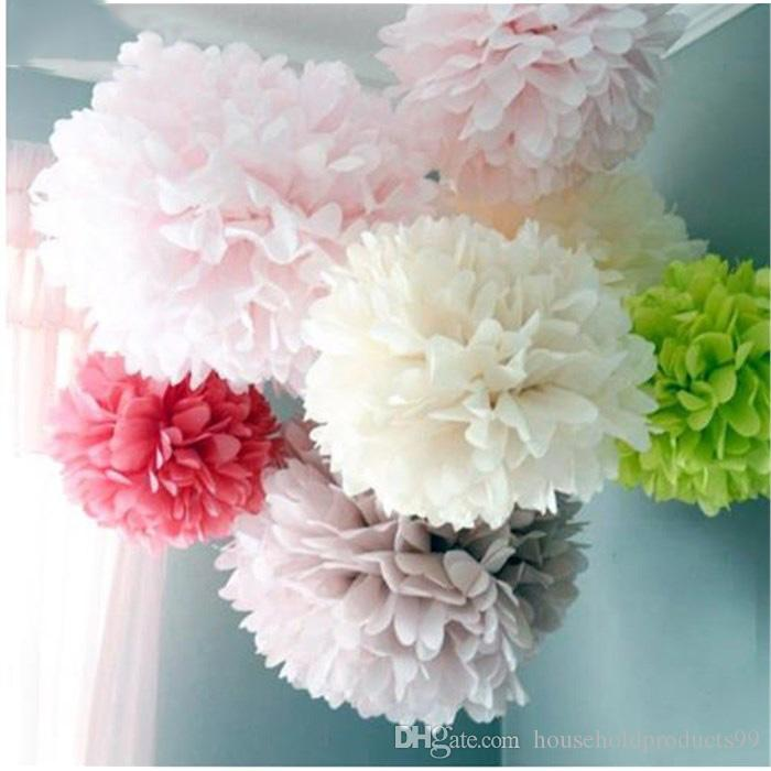 2018 202530cm diy papper flower ball wedding decoration tissue 2018 202530cm diy papper flower ball wedding decoration tissue paper pompom artificial flowers baby shower birthday party decorations from mightylinksfo