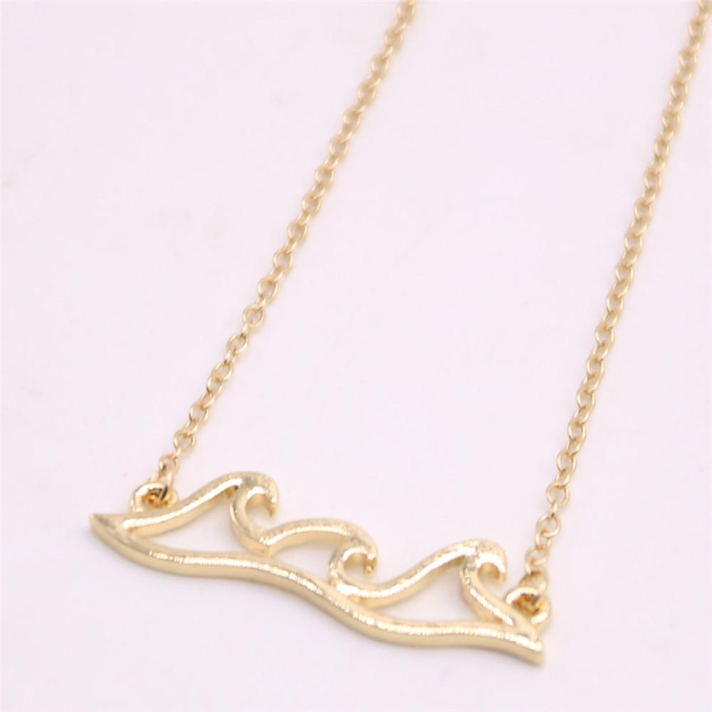 South American style pendant necklace Wave form necklace attractive gifts for women Retail and wholesale mix