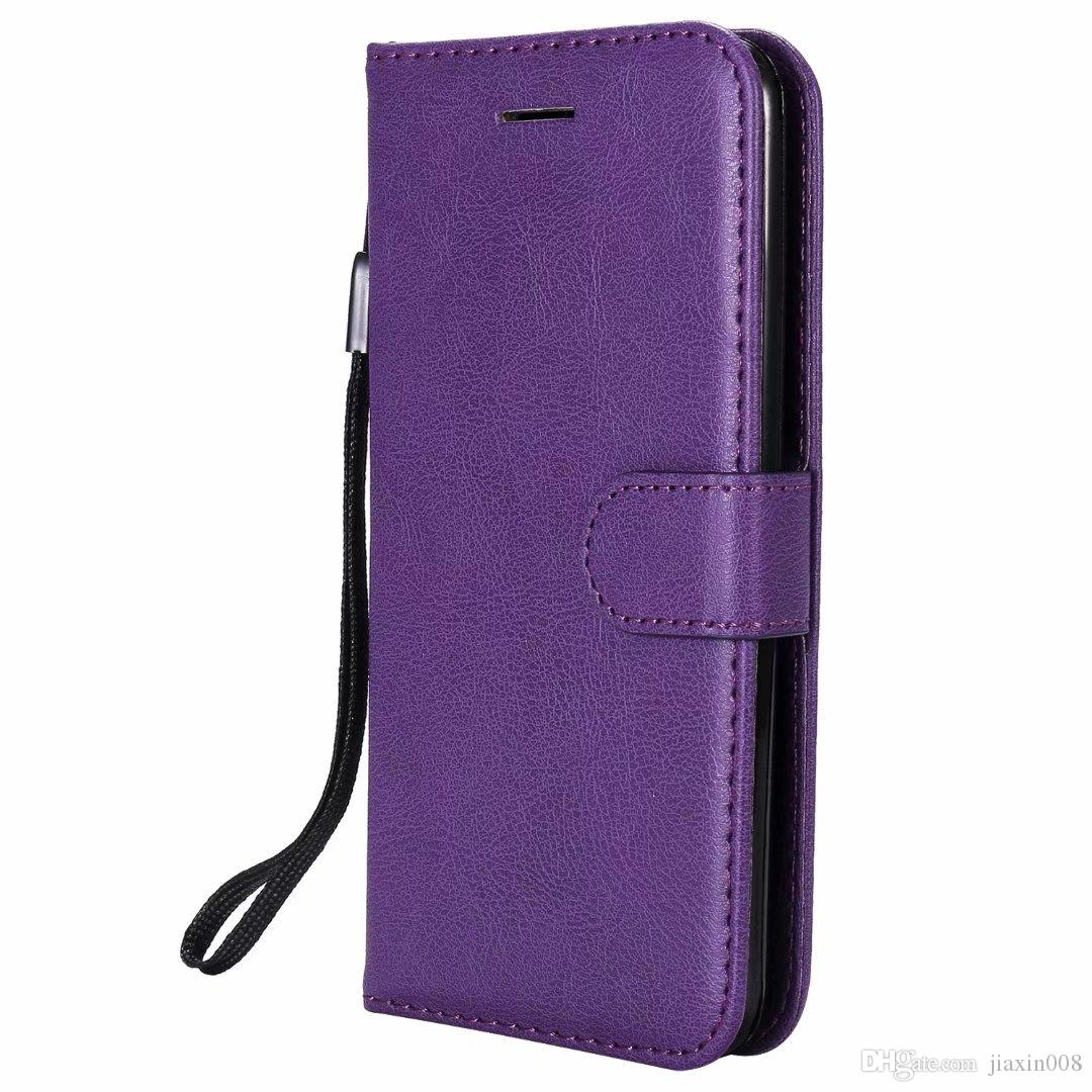 the latest c28b5 2cbd2 Wallet Case For LG K7 Flip back Cover Pure Color PU Leather Mobile Phone  Bags Coque Fundas For LG K8