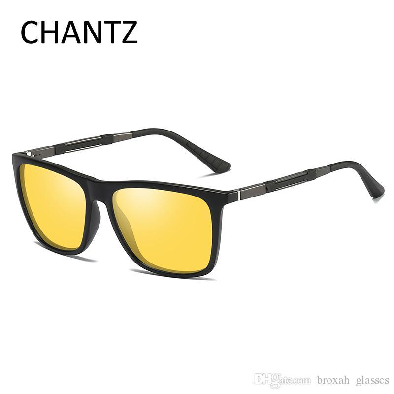 72e956dfffa Fashion Polarized Sunglasses Men Retro Square Eyeglasses Male ...