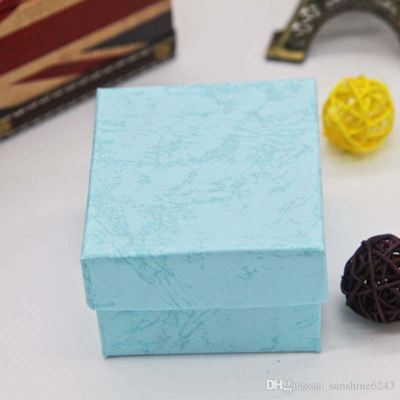 Durável caixa de presente de apresentação caso para pulseira jóias pulseira de relógio de pulso caixas de relógio de papel caixa de pacote de jóias