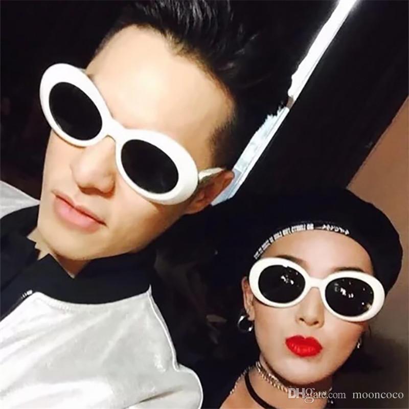 ae641c6fde Compre Gafas Clout Goggles Gafas De Sol Kurt Cobain Gafas Mujeres Diseñador  De La Marca Sunglass Hombres Gafas Retro Redondas A $6.16 Del Mooncoco |  DHgate.