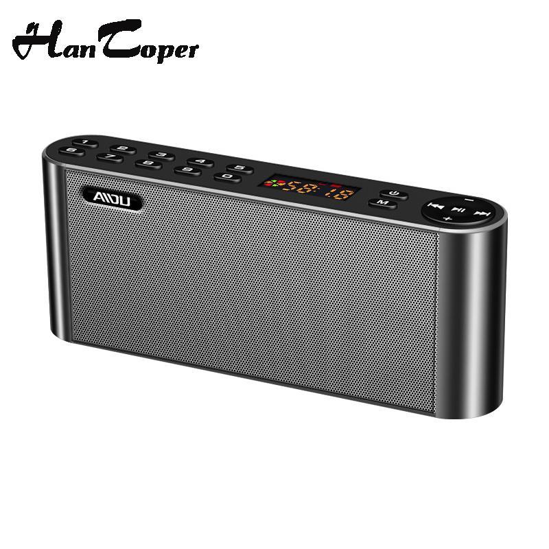 Energetic Mini Led Portable Wireless Mp3 Speaker Recharge Music Subwoofer Superbass Stereo Audio Docks & Mini Speakers