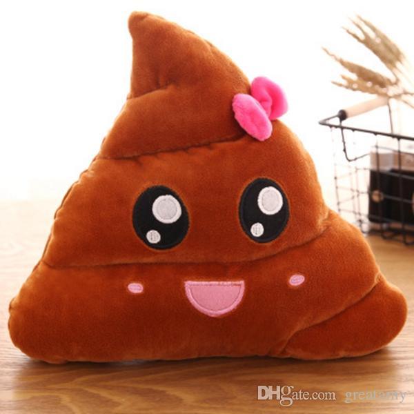 Emoji Plüschtiere 20-35 cm Dung QQ Expression Plüsch Kissen Plüschtiere Kreatives Spielzeug Lustig Aussehen Geburtstagsgeschenk