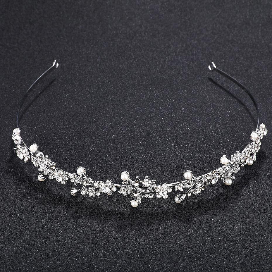 Crystal Strass Crown Tiaras Hochzeit Haarschmuck Festzug Prom Charms Braut Stirnband Hochzeit Schmuck Rim Für Haar Jci041