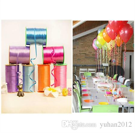 Best 250yard Balloons Ribbons For Party Decoration Ribbon Birthday