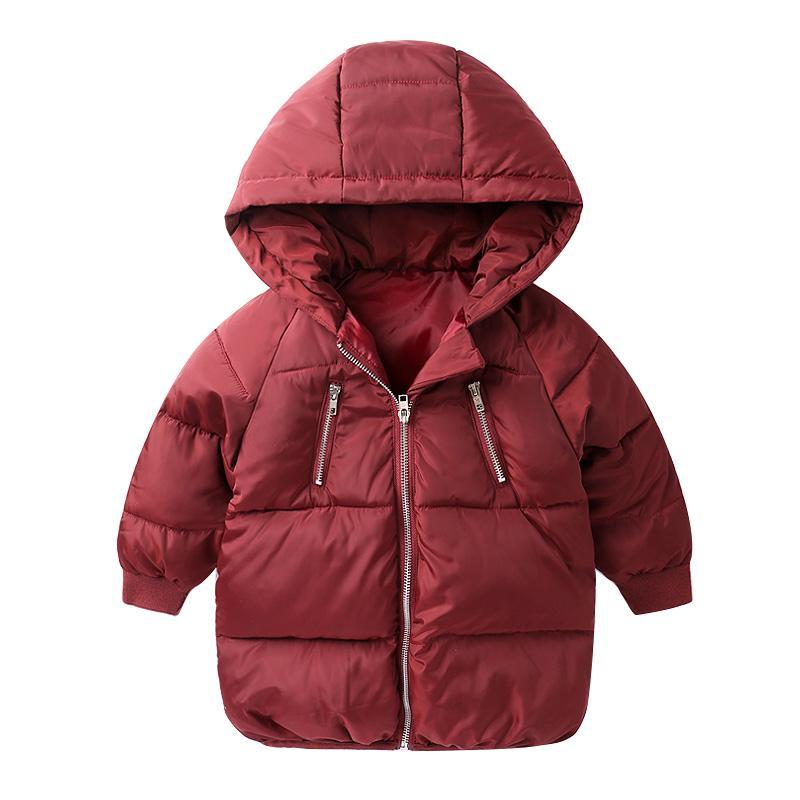 Abrigo Traje Chaquetas Niños Cálido Parkas Espesar Capucha Invierno De Prendas Largo Con Nieve Niñas Ropa Bebé Moda gtxxBwUq