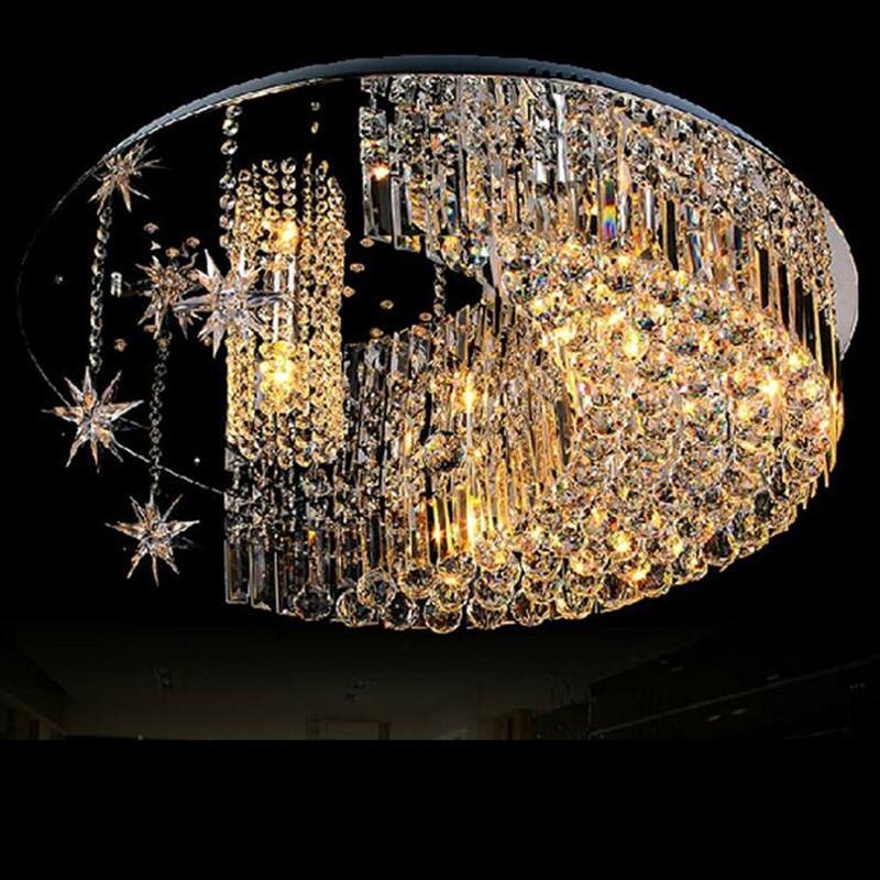 Grosshandel Moderne Mode Kristall Lampe Wohnzimmer Lampe Schlafzimmer