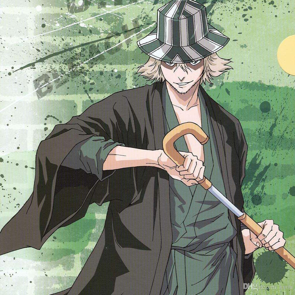 [Bleach] Top 5-  Personagens com melhor design  Anime-lix-via-urahara-kisuke-kimono-traje