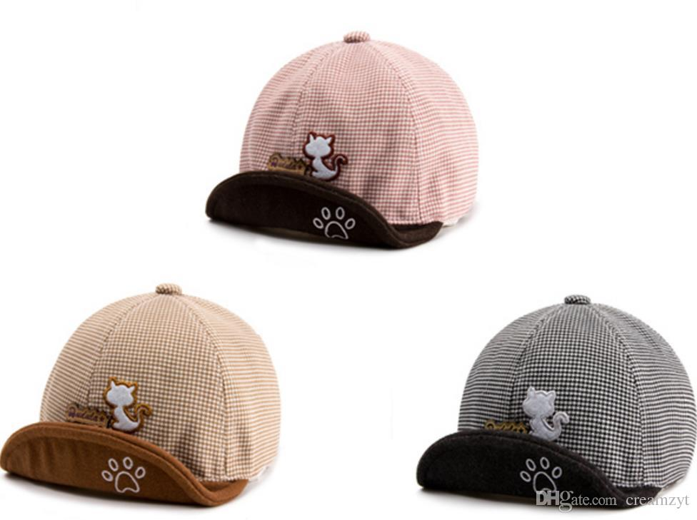 2019 Spring And Autumn 3 6 12 Months Baby Duck Tongue Cap 1 2 Years Old  Children Baseball Cap Baby Cap Fashion Cute Wear Comfortabl From Creamzyt 7cfcc5ff8b9