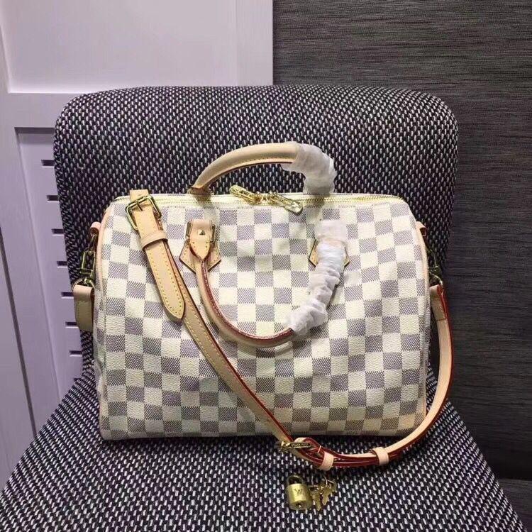 e8faecfefb96 дорожная сумка из натуральной кожи speedy 30 см женщины сумка botson кошелек