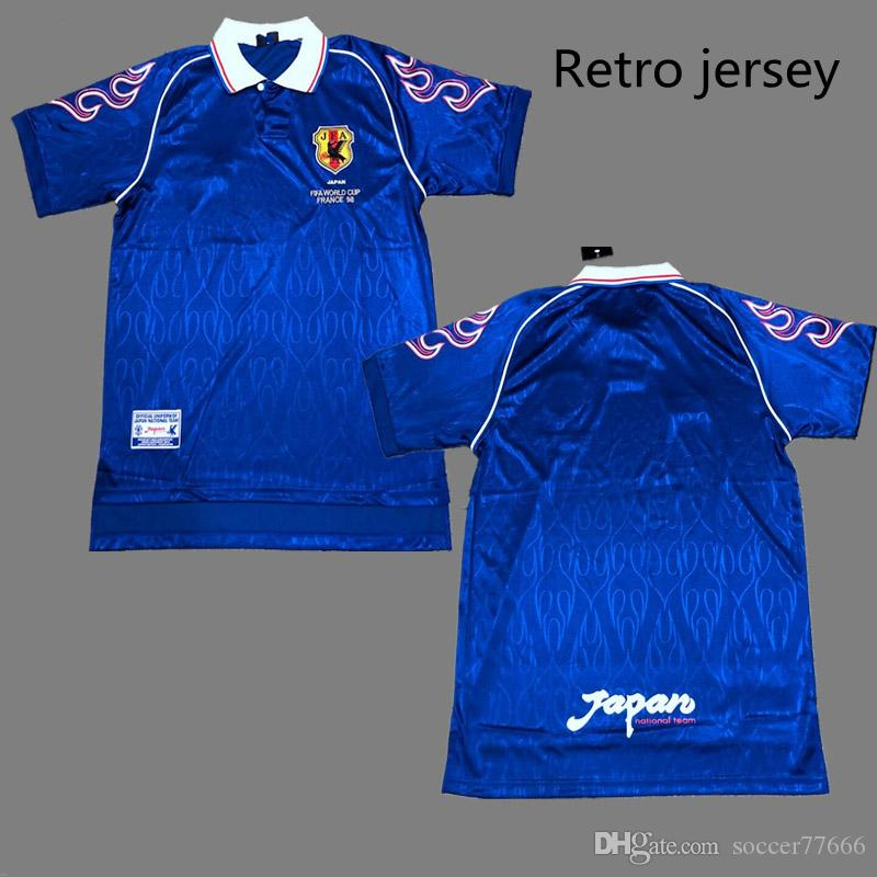 2019 98 Japan Retro Soccer Jerseys  8 NAKATA  9 NAKAYAMA Best Quality Japon World  Cup 1998 Football Jersey Can Custom From Soccer77666 ec80174f9