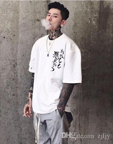 Vogue Suelta Conjunta Eden Hombre Hop Extragrandes Tops Pareja Streetwear Hip De Malvada Casual Camisetas Camiseta 3xl Aelfric IbgvYyf67