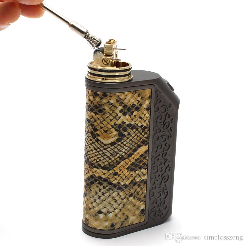 Electronic cigarettes carbon deposit cleaning brush Atomizer special heating wire coils cleaning tool Small metal brush