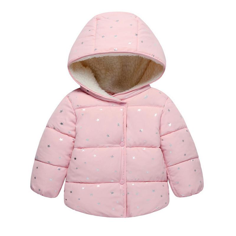 f365c61ba 2018 New Arrival Baby Girls Coat   Jacket Winter Autumn Children ...