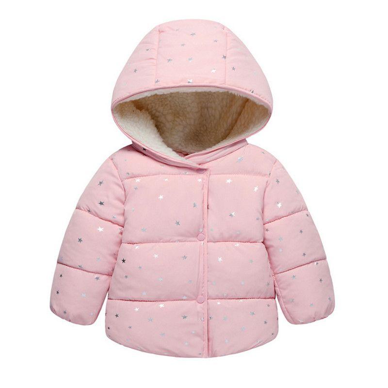 f365c61ba 2018 New Arrival Baby Girls Coat   Jacket Winter Autumn Children ...