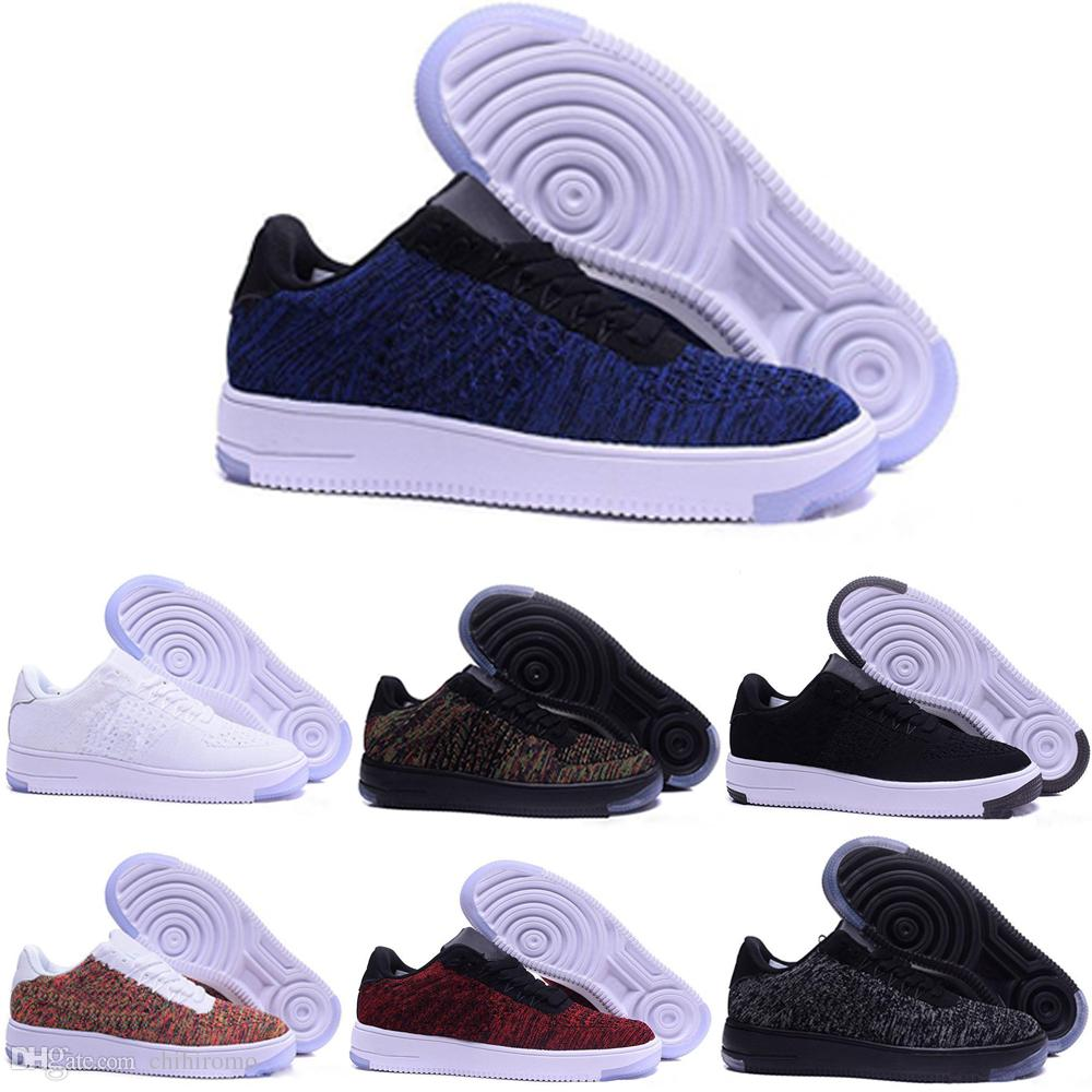 Décontractée Oen Chaussures Chaussure Flyknit Chine Femmes Mode Af1 Air One Faible Force Nike Designer 2017 Hommes Design 1 fyb6g7