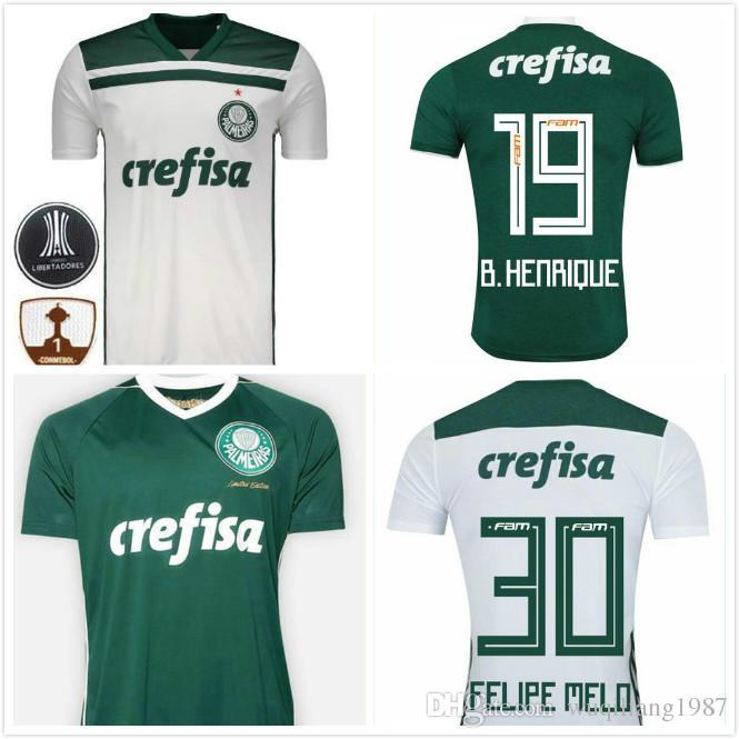 2019 18 19 Palmeiras HOME AWAY SOCCER JERSEY DUDU BORJA MOISES MINA FELIPE  MELO 2018 Palmeiras JERSEY Brazil Palmeiras JERSEY Brazil League Shirt From  ... 2bda37e63
