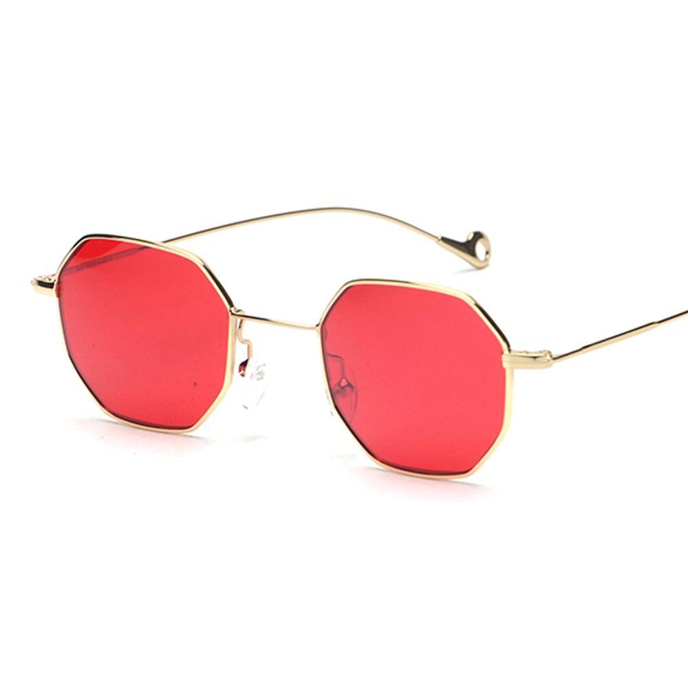 b02f8c8f1a Blue Yellow Red Tinted Sunglasses Women Small Frame Polygon 2018 Brand  Design Vintage Sun Glasses For Men Retro Prescription Glasses Online Round  Glasses ...