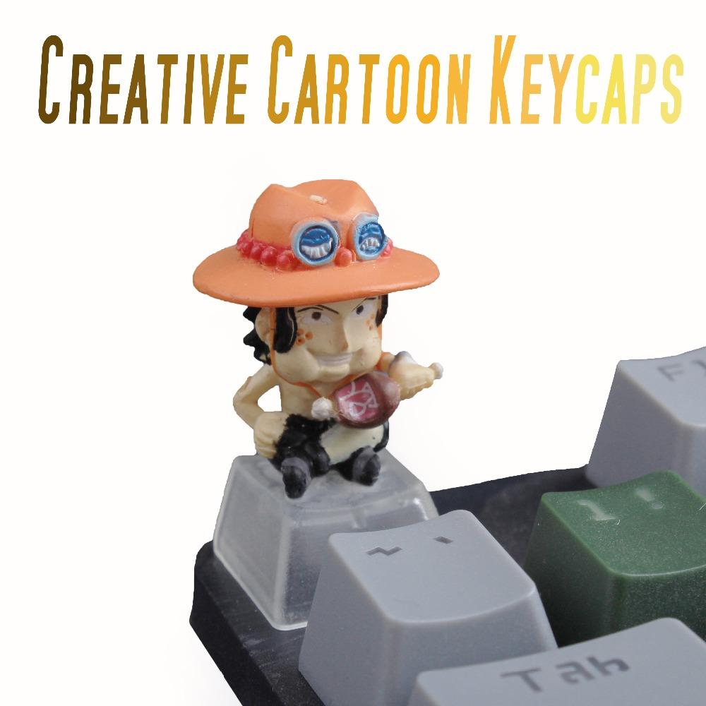 Pbt Custom Cartoon Anime ESC Gaming Keycap Bottom Backlit Keycaps Halloween  gift For Cherry MX Mechanical Keyboard Key Cap