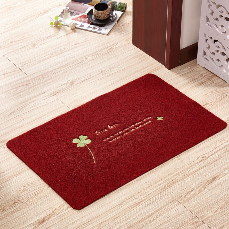 Zeegle Durable Entrance Mats Non Slip Bathroom Carpet Toilet Rugs