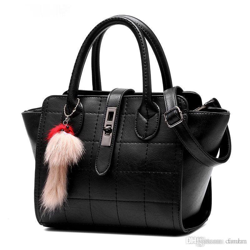 Wholesale Ladies Hand Bag New PU Leather Fashion Thread Plaid Handbag Women  Simple Buckle Designer Casual Shoulder Bag Crossbody Bag Ladies Purse  Designer ... da072e9a4fcc1