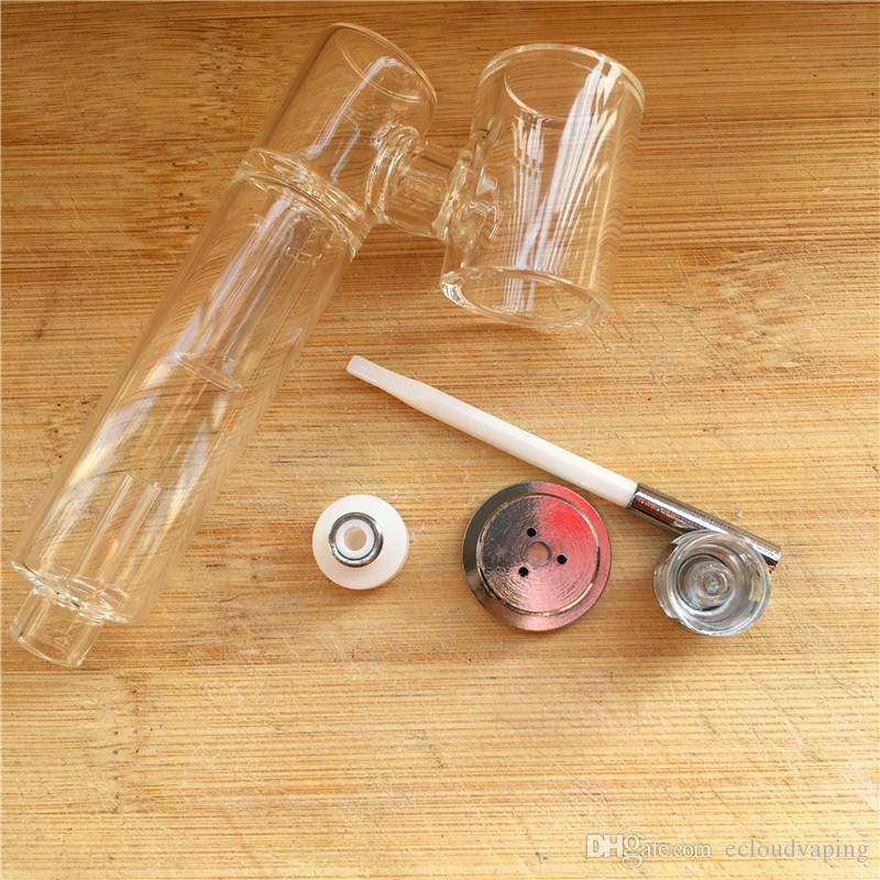 Auténtico CPENAIL 1100 mah Portátil Cera Pluma Dab Rig Nail Ceramic Quartz Electric H Nail GR2 Ti 3tipo bobinas e cigs Vaporizador Bongs de vidrio