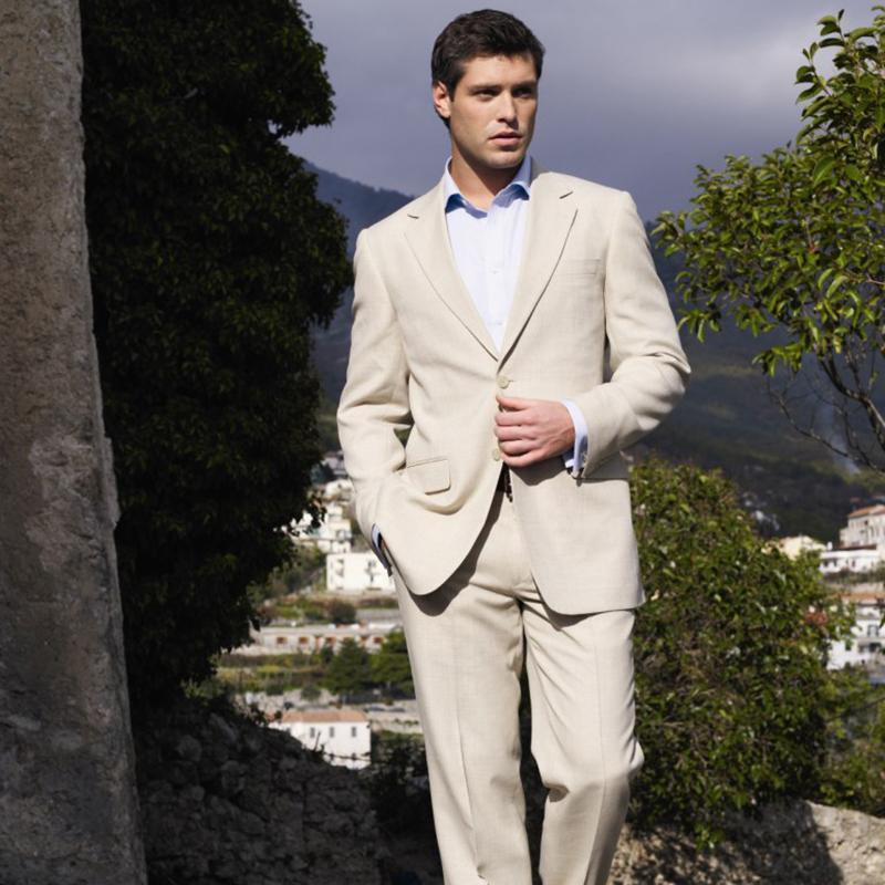 Compre 2018 Últimos Abrigos Pantalones Diseños Caqui Hombres Trajes De Boda  Verano Playa Novio Esmoquin Best Men Slim Fit Chaqueta Blazer Para Hombre 2  ... f76b6f335e8d