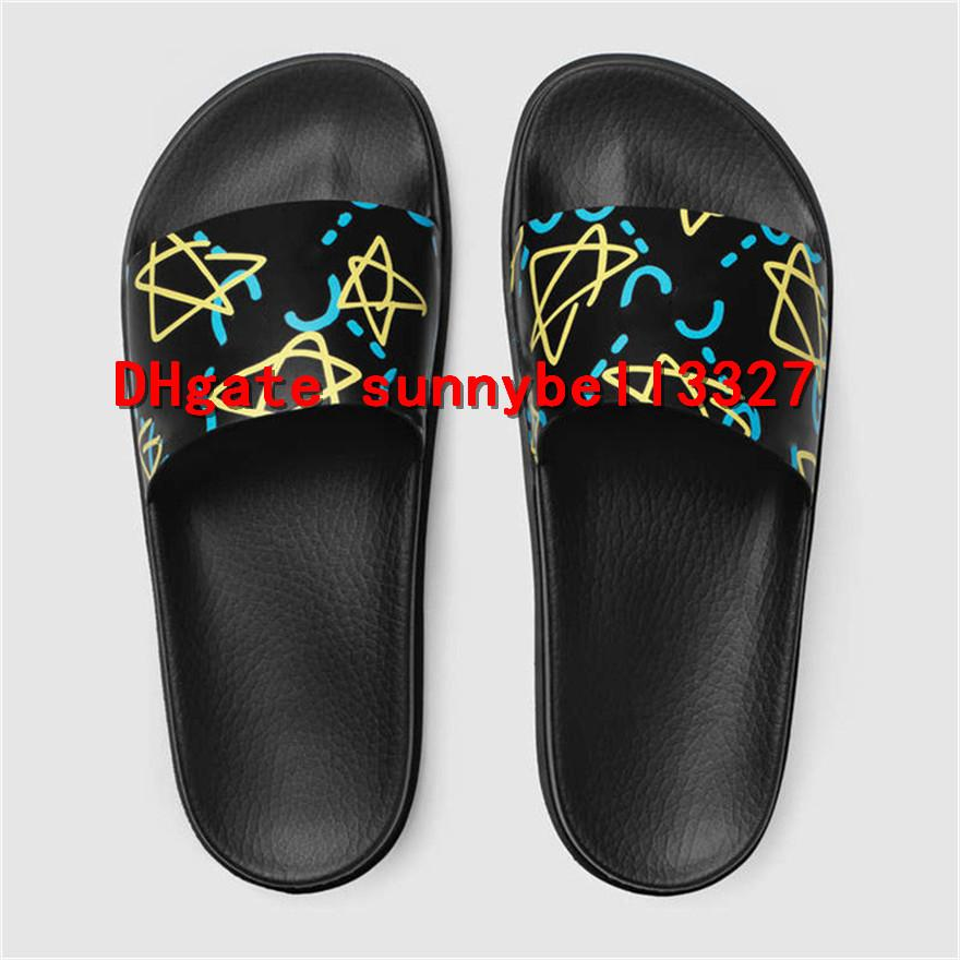 da6906db66b With Box 2018 Mens Web Rubber Slide Sandal Slippers Boys  Girls Tian ...