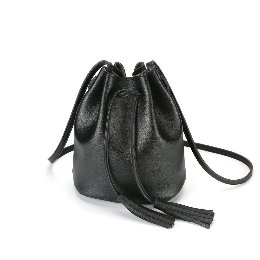 5528813e8efb6 FGGS Crossbody Handbags Drawstring Bucket Bag For Women Shoulder Bag Purse  Tote PU Leather Bags Leather Goods Branded Bags From Gadarr
