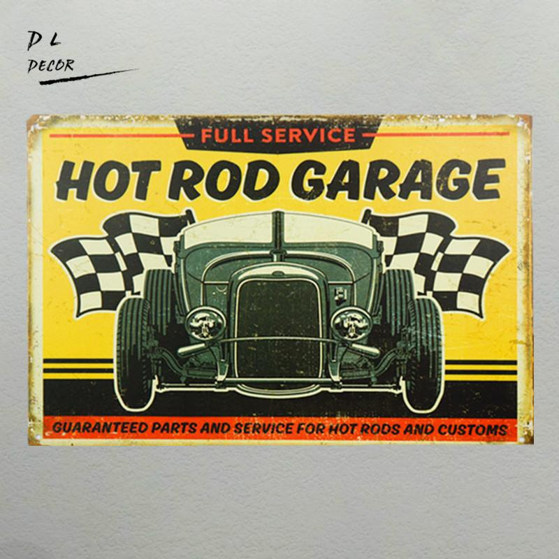 Hot Rod Garage Tin Metal Sign Route 66 Car Craft Retro Vintage Plate Garage Pub Home Designs on home ice cream parlor designs, home brewery designs, home salon designs, home shop designs, home outdoor patio designs, home grill designs, home room designs, home bar designs,
