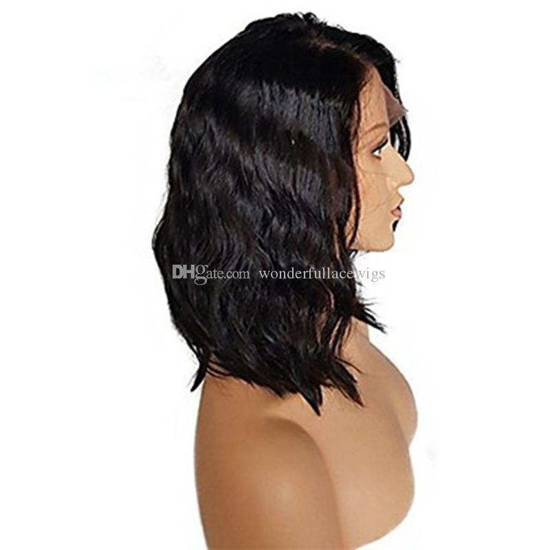 Cheap Fashion Loose Wave Short Bob Wig Heat Resistant Synthetic Lace Front Wigs with Baby Hair for Black Women Cosplay Wig