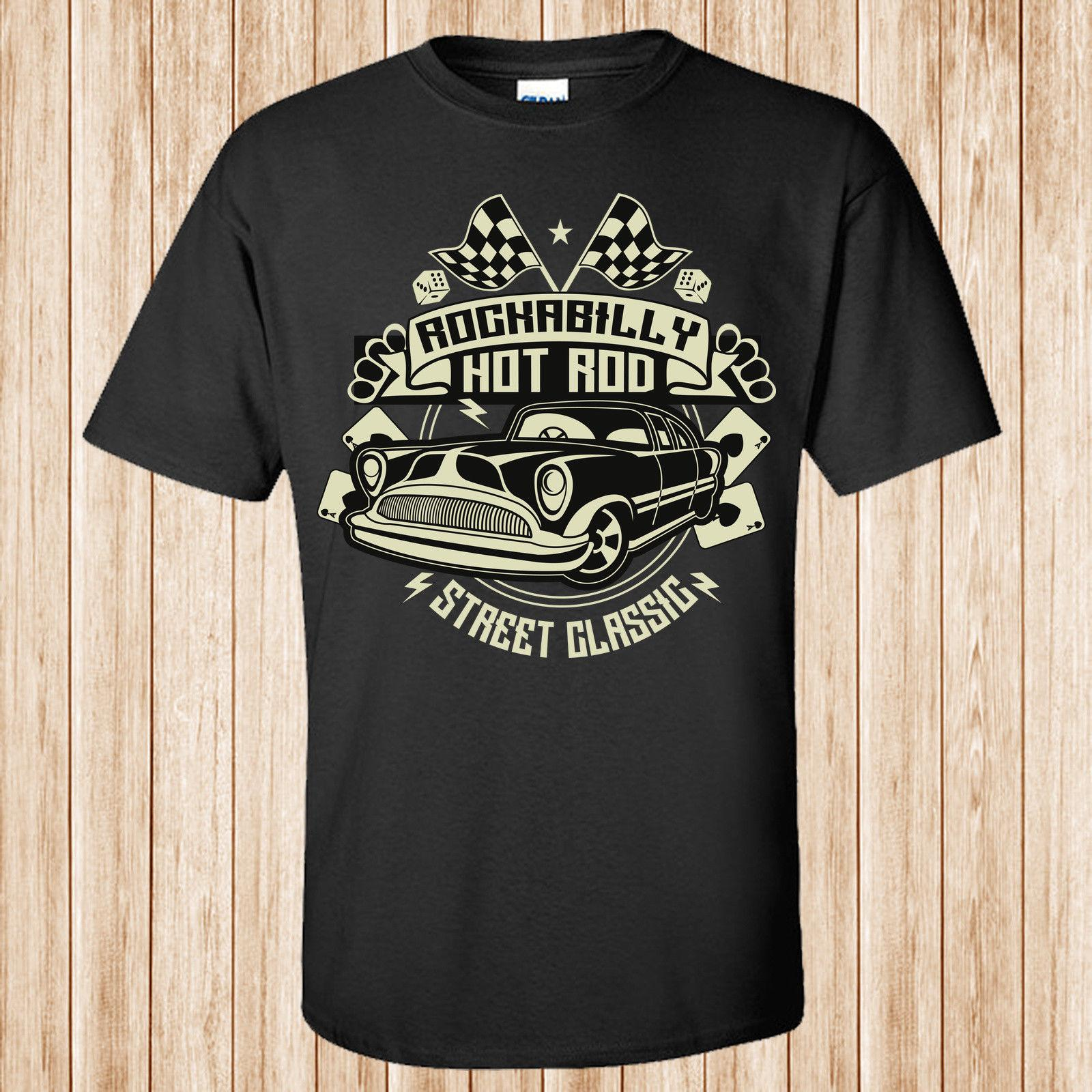 efa731138 Mens T Shirts Summer Hipster Rockabilly Hotrod T Shirt Shirt With T Shirt  Buy Funny T Shirts Online From Lovetshirts29, $11.17| DHgate.Com