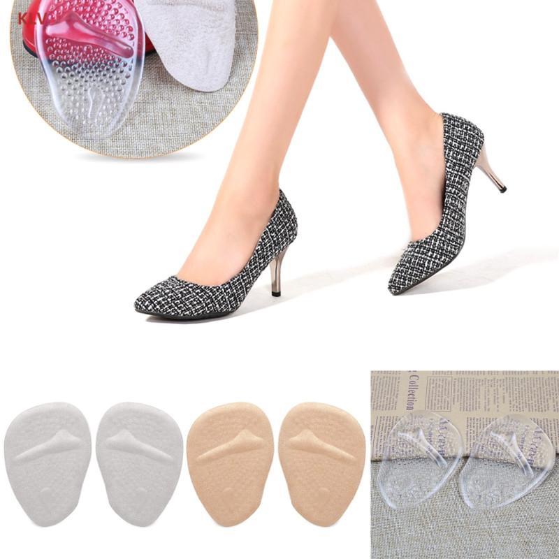 51ff10d75bdd KLV Multi Color Soft Gel Anti Slip Forefoot Shoe Pad For High Heels ...