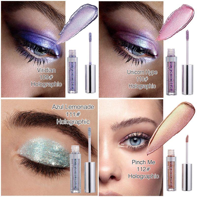 New Makeup PHOERA Liquid Glitter Glow C Highlighter High Quality Free DHL Shipping 91