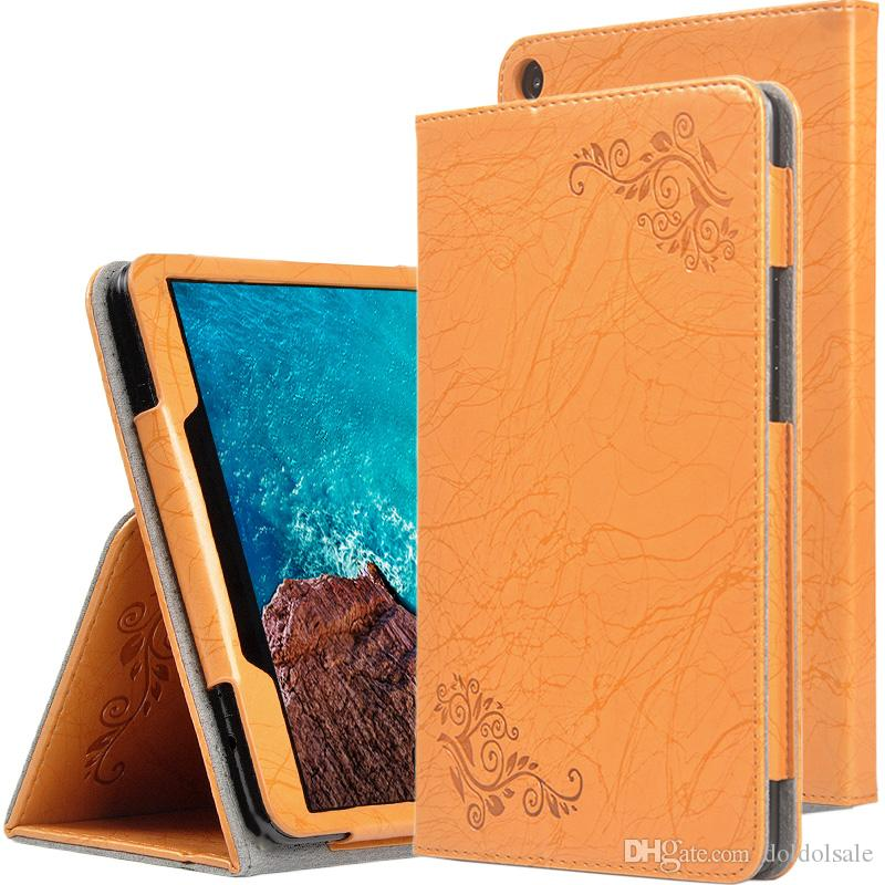 huge selection of 09beb 3b398 Print Flower PU Book Flip Cover for Xiaomi Mipad4 Plus Mi Pad 4 Plus Mipad  4 Plus Tablet Case 10.1 inch Hand Strap